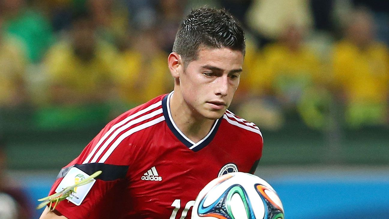 James Rodriguez's World Cup breakout is one of the lasting memories of Brazil 2014.