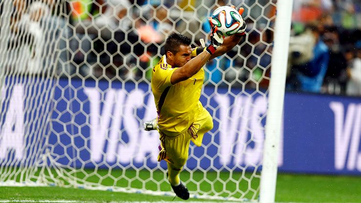 Sergio Romero came up with two stops in the semifinal shootout versus the Netherlands to help send Argentina to the World Cup final.