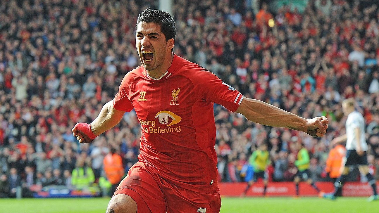 Luis Suarez will team up with fellow South Americans Lionel Messi and Neymar next season at the Camp Nou.