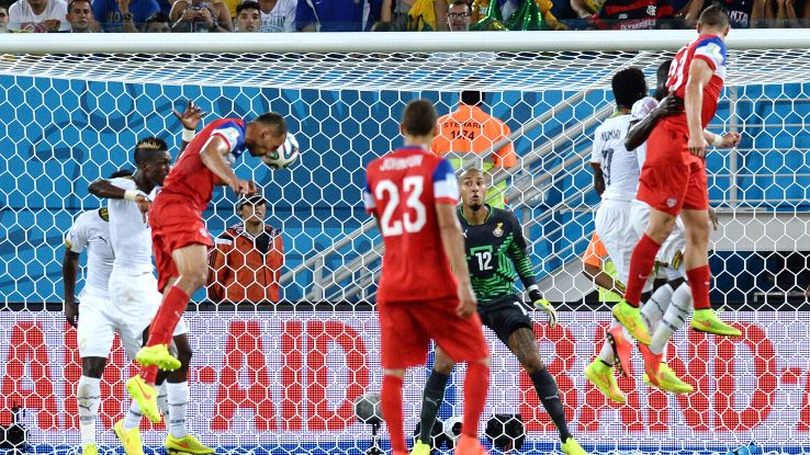 Brooks' late goal vs. Ghana helped the U.S. escape the group of death.