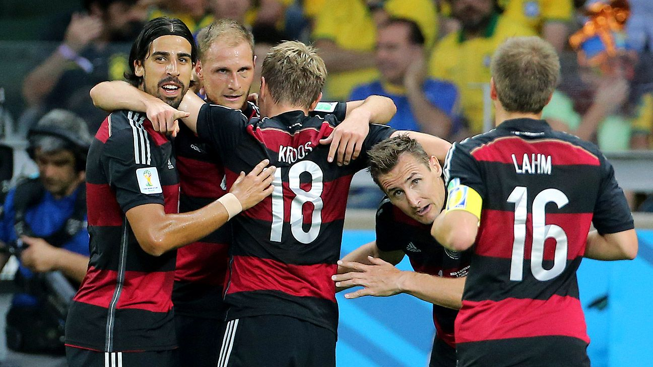 Germany ran roughshod over Brazil in their semifinal win, but a much closer encounter is expected in Sunday's final versus Argentina.