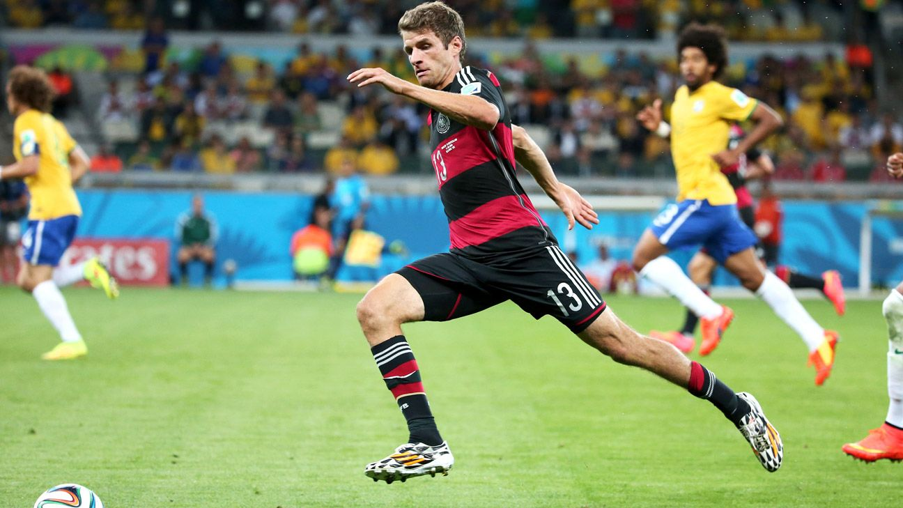 Germany's Thomas Mueller is looking to win his second consecutive Golden Boot.