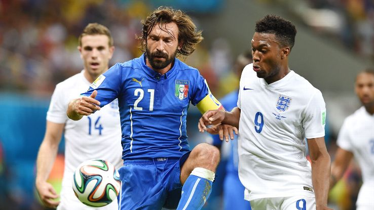 Pirlo's class and charm vs. England was a prevailing memory.