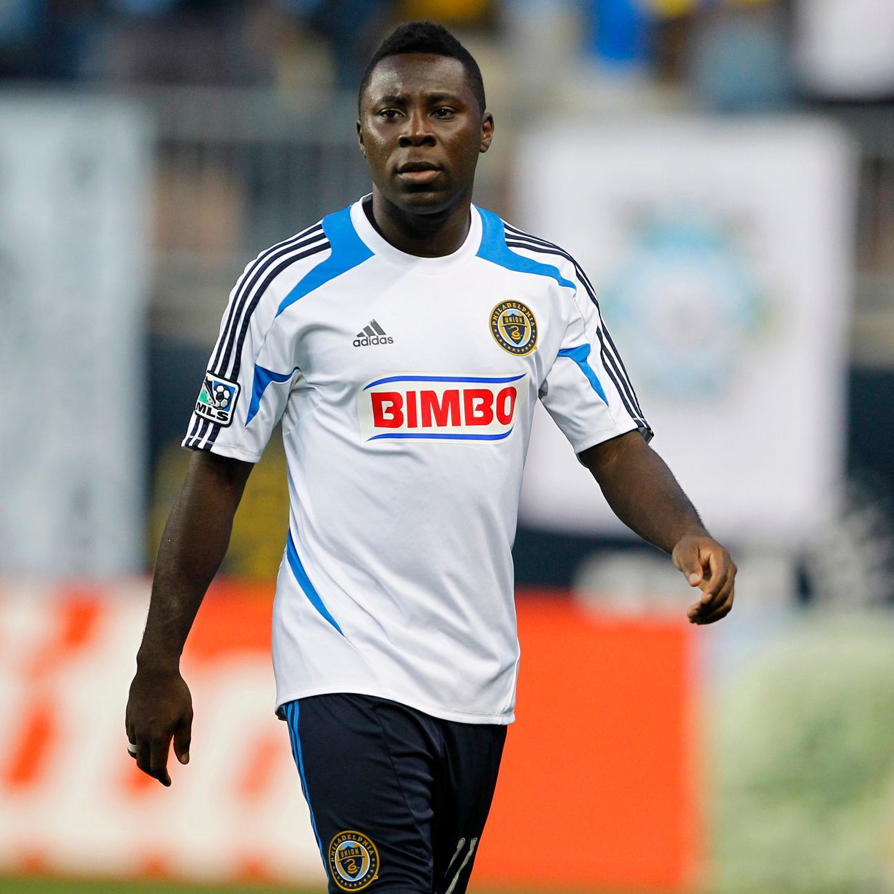 Freddy Adu, pictured above with the Philadelphia Union, struggled to live up to sky-high expectations.