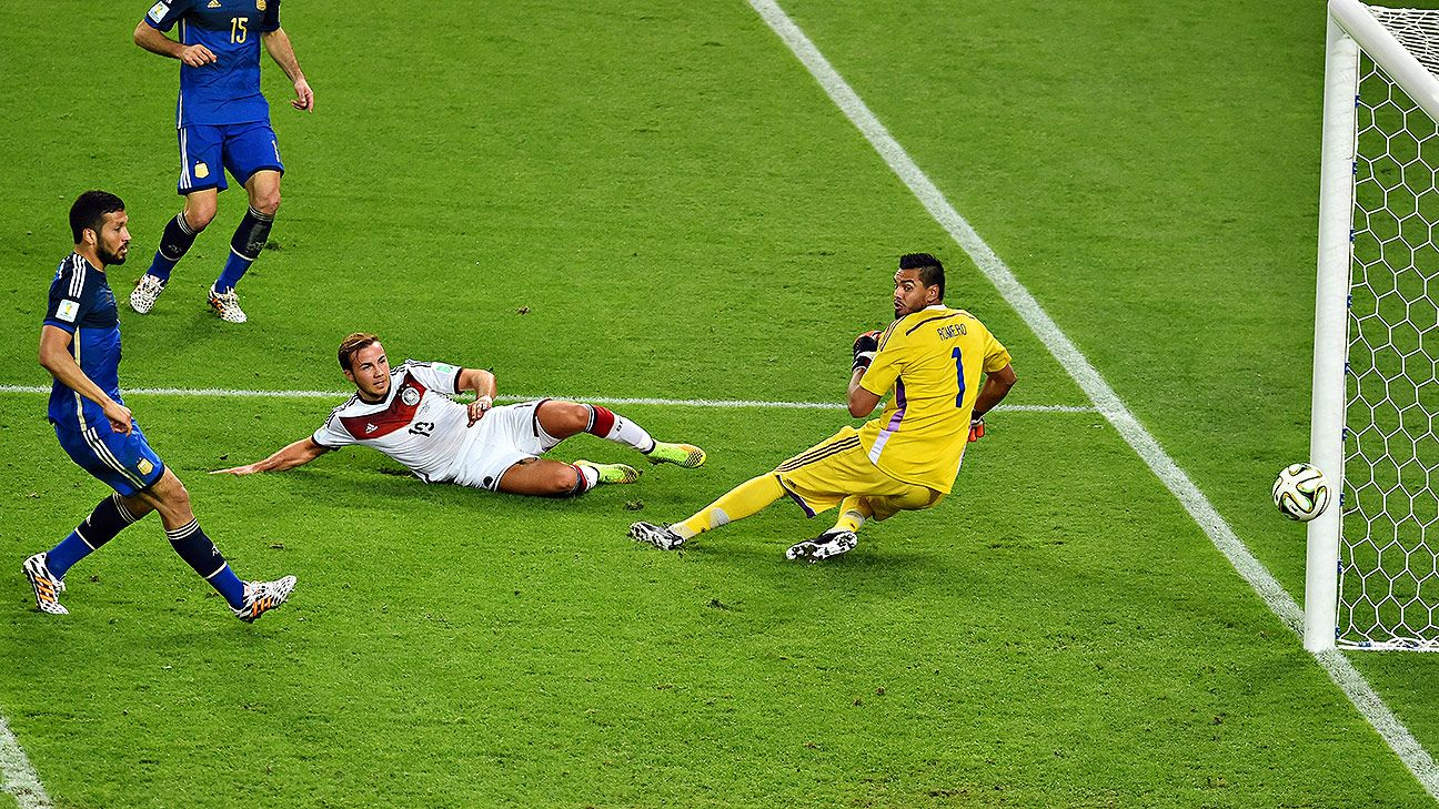 Gotze goal hands Germany World Cup