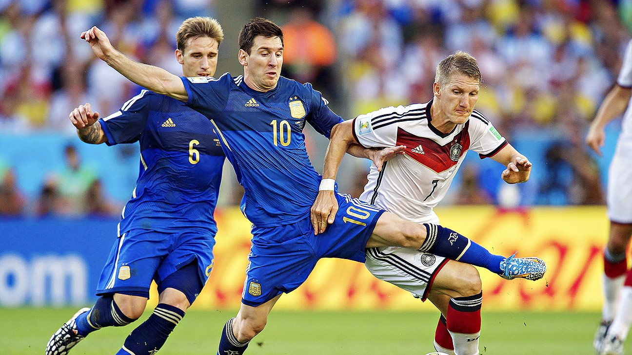 Messi tried his hardest at the Maracana but fell short vs. the stronger Germans.