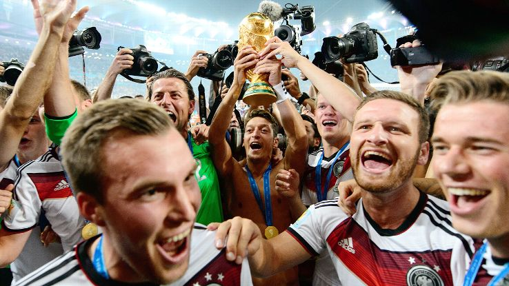 Germany's World Cup glory was a long time in coming.