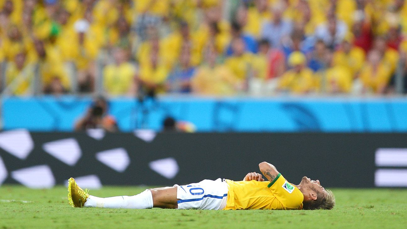 Neymar's injury derailed a quite successful tournament from the Brazilian star's point of view.