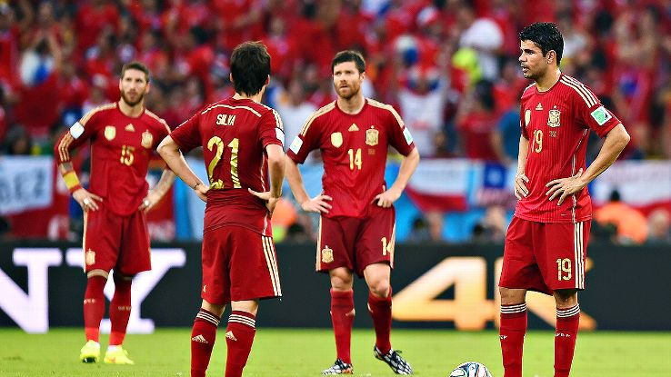 Spain's failure in Brazil was unexpected, unbelievable and largely unprecedented.