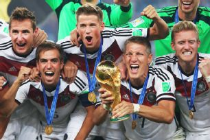 Germany's success would be a team victory but Schweinsteiger's role in midfield served as anchor.