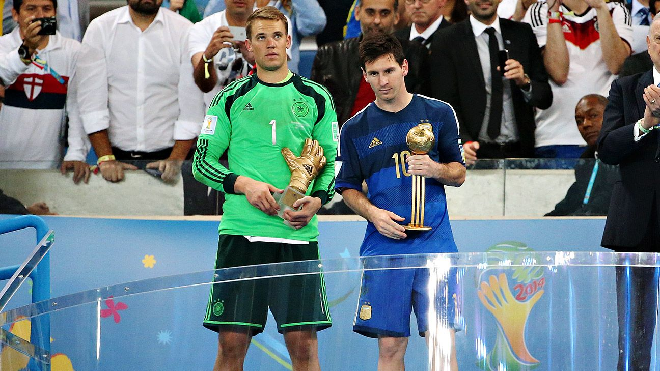 The world didn't think Messi deserved the Golden Ball; he didn't seem too happy either.