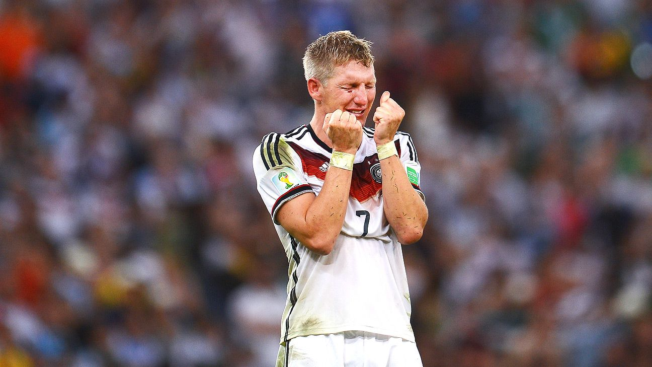 Thought to be marginal for Germany Bastian Schweinsteiger proved
