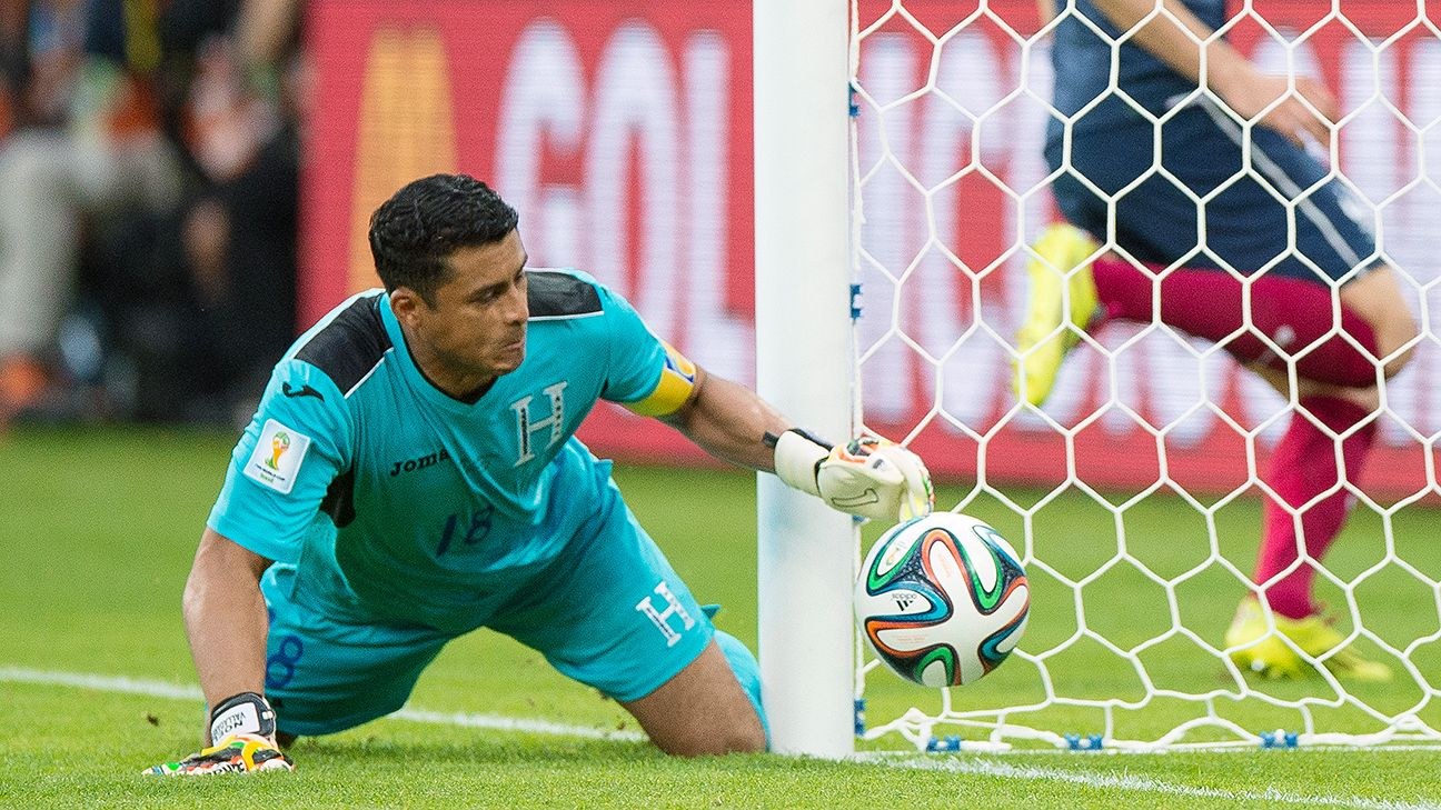 Goal-line technology caused little issue; Honduras' Noel Valladares was rightly charged with an own goal.