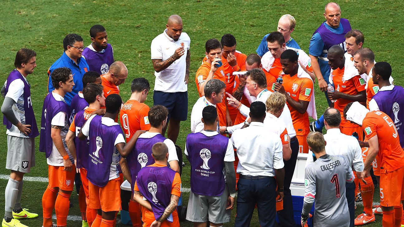 Cooling breaks probably weren't used enough for players though the Dutch famously profited vs. Mexico.
