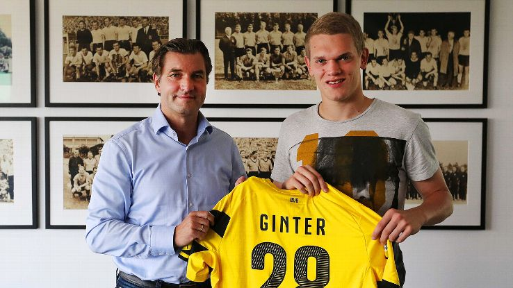 Signing Ginter gives Dortmund a wealth of options and plenty of depth at the back.