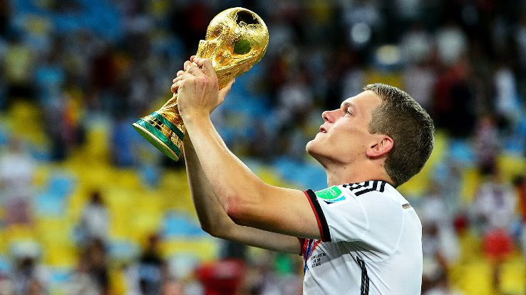 Ginter was part of Germany's World Cup-winning squad in Brazil.