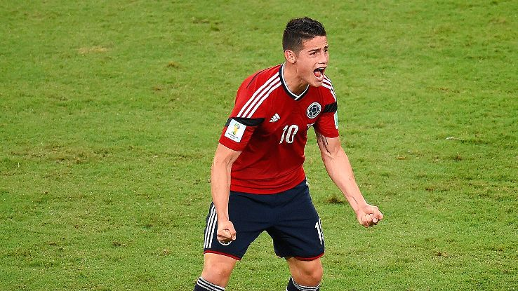 James Rodriguez might well be the key for Real Madrid moving forward.