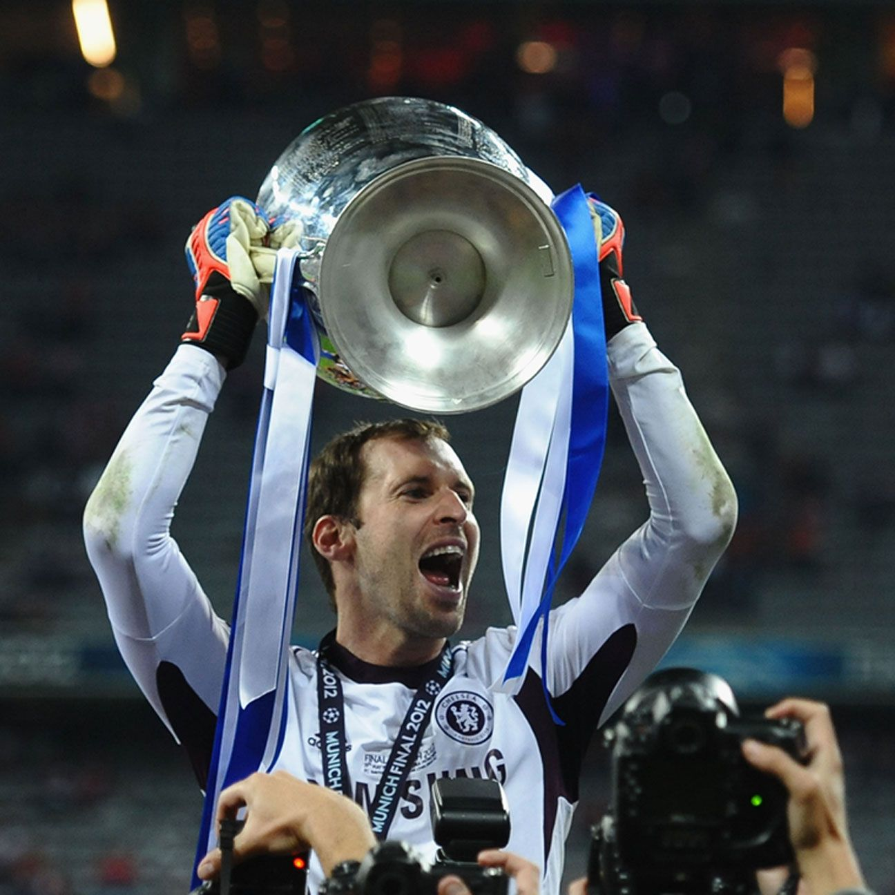 Without Petr Cech's penalty saves, Chelsea would not have won the 2012 Champions League final.