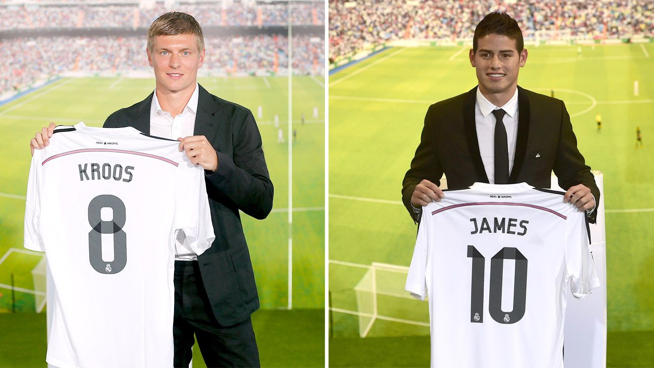 Toni Kroos and James Rodriguez were purchased to help Real Madrid dominate beyond Spain's borders.