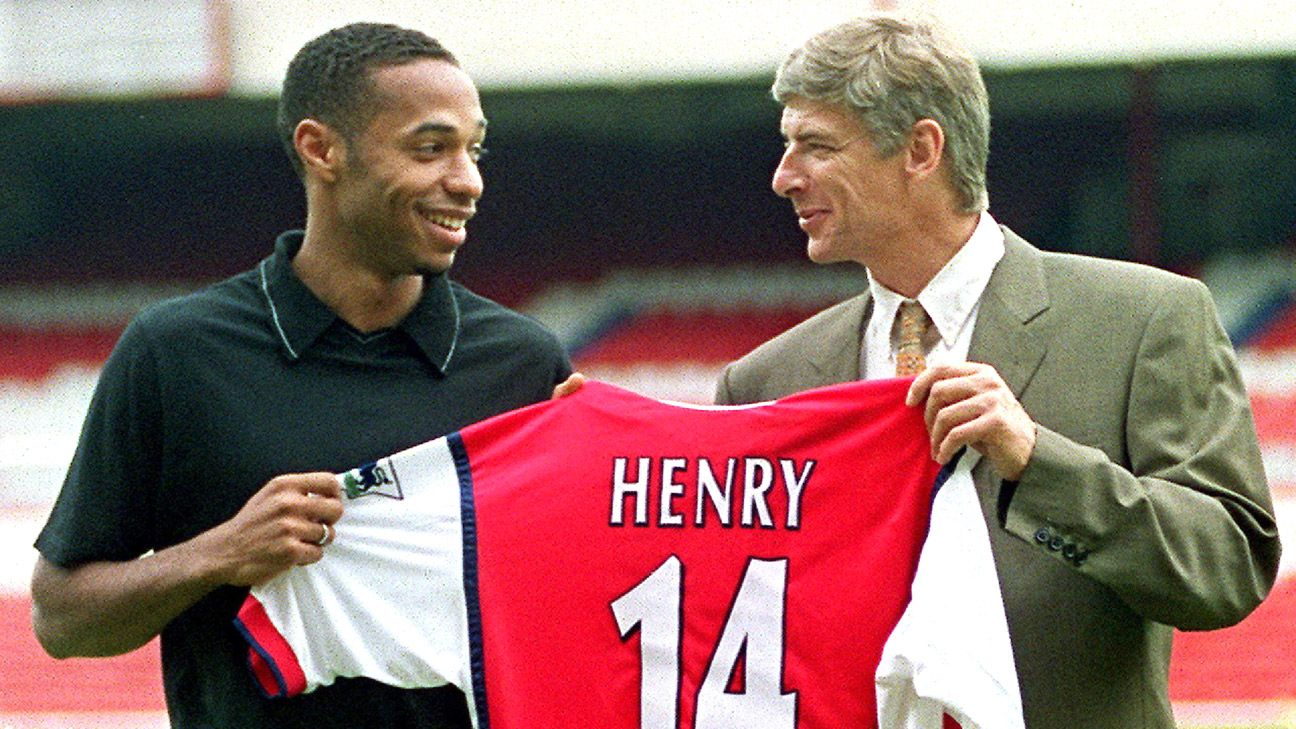 Wenger and Henry joined forces in 1999 and went from strength to strength together.