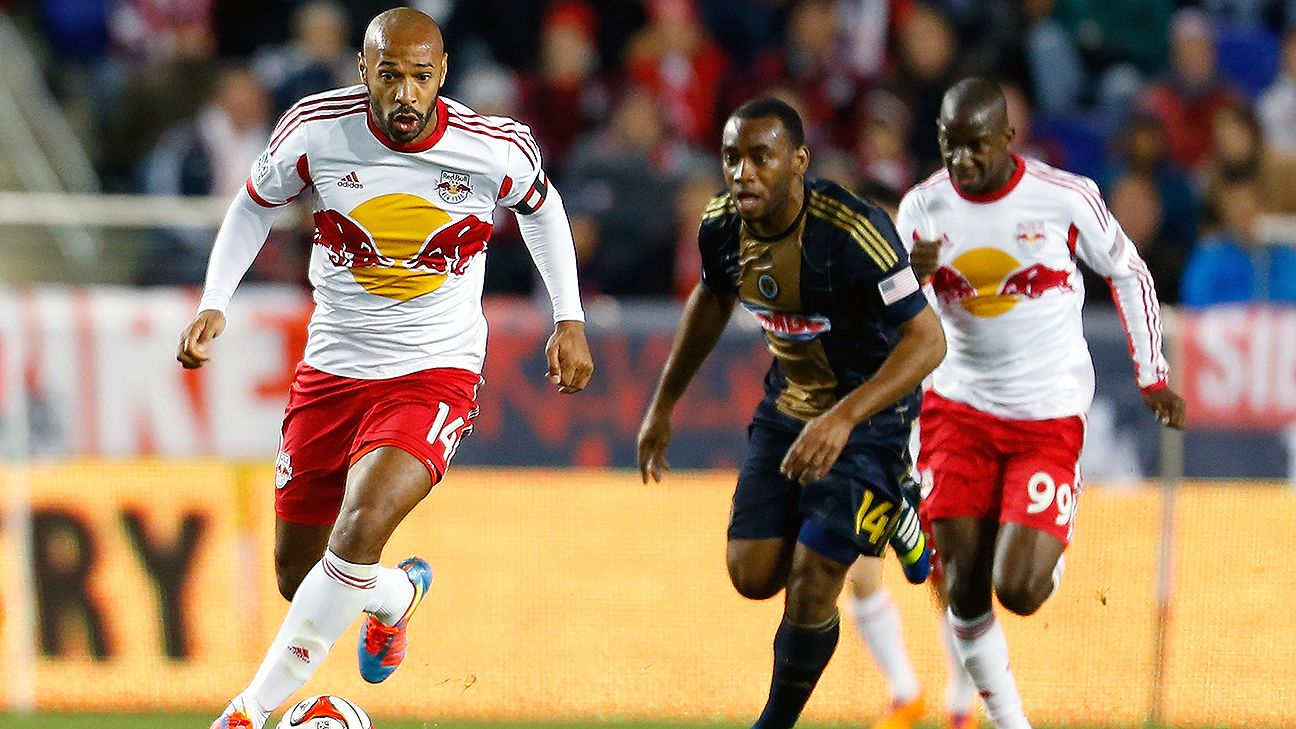Henry's stern demeanor isn't unique to the Red Bulls -- it's just an expression of his competitive spirit.