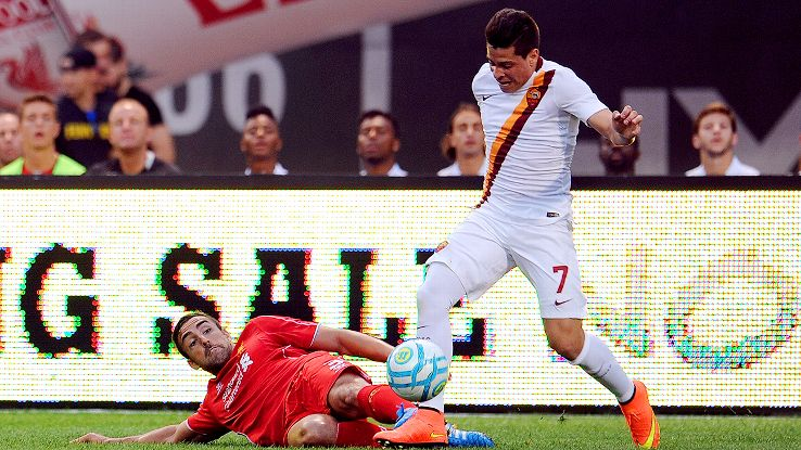 The signing of Juan Manuel Iturbe, right, from under Juve's nose is further cause for optimism at Roma.