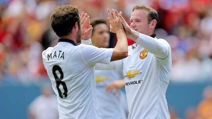 Wayne Rooney and Juan Mata both impressed in Denver as Man United beat Roma.