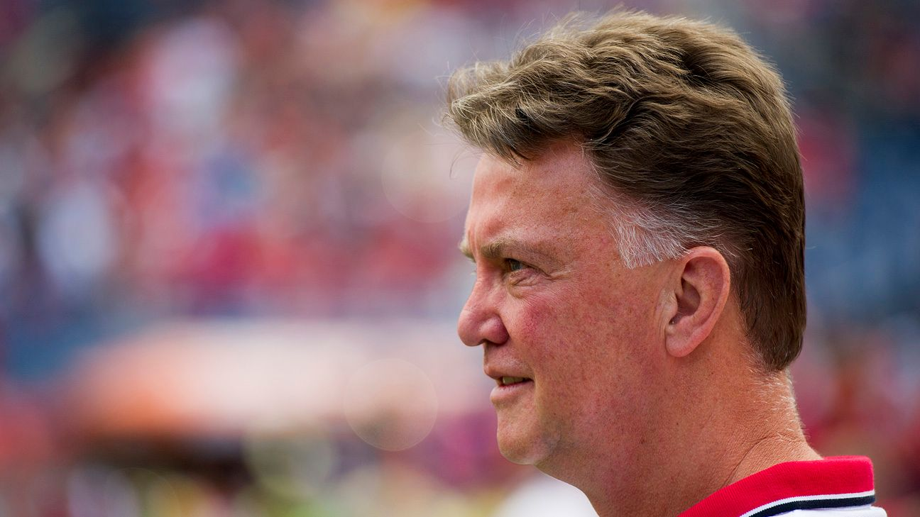 Van Gaal is giving most United players a chance on tour as he evaluates his new squad.