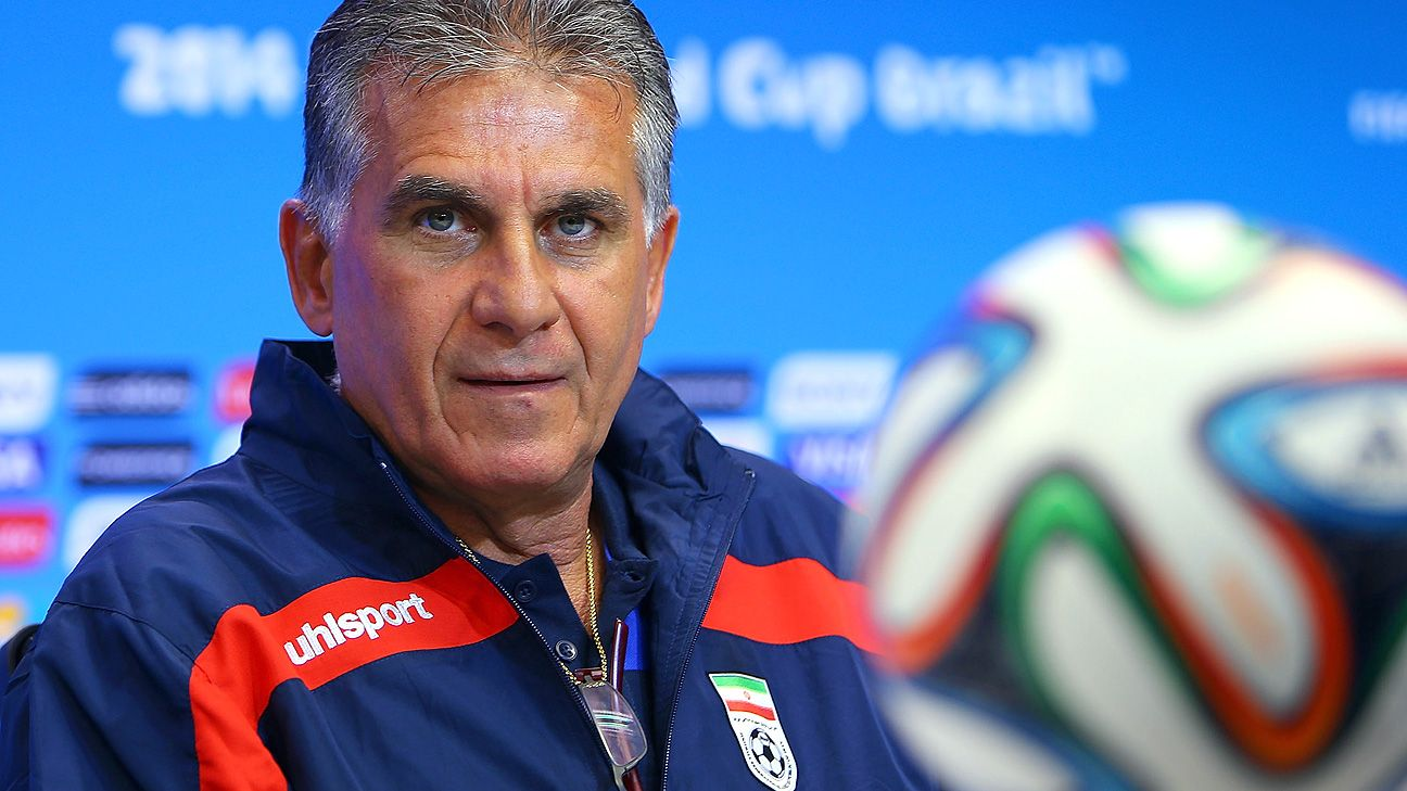 Carlos Queiroz resigns again from his role as Iran coach