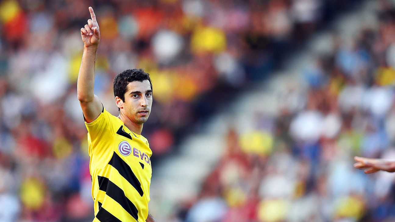 Henrikh Mkhitaryan endured a patchy first season with Dortmund and must deliver in 2014-15.
