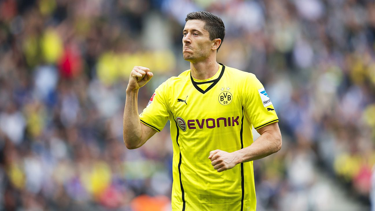Robert Lewandowski broke out in his second year with BVB. The same is expected of Mkhitaryan.