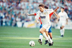 Michael Laudrup swapped the Camp Nou for the Bernabeu in the summer of 1994 and helped Real Madrid end Barcelona's La Liga title streak.