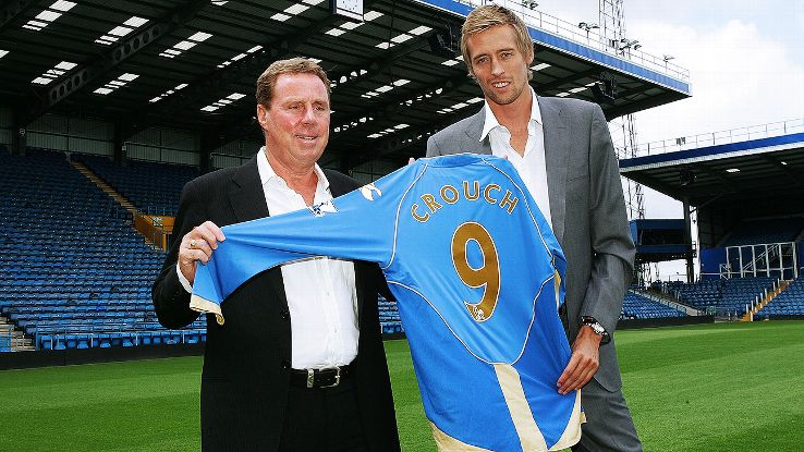 Harry Redknapp did not hesitate to sign Peter Crouch at Portsmouth in 2008.