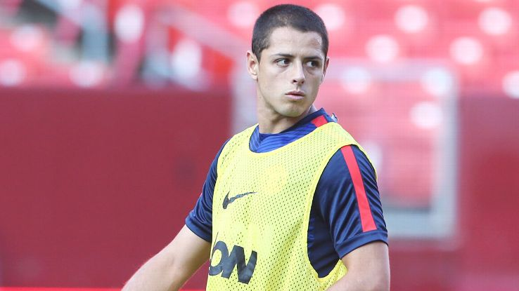 Javier Hernandez's Manchester United future remains in doubt.