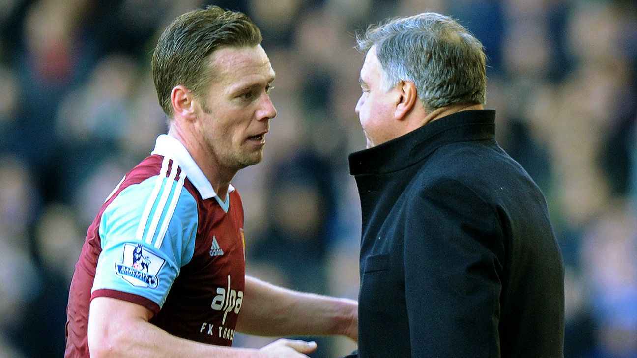 Kevin Nolan has always had the trust of current West Ham boss Sam Allardyce.