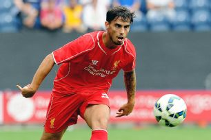 After playing last season on loan in Spain at Almeria, Suso will be hoping to spend the 2014-15 season at Anfield.