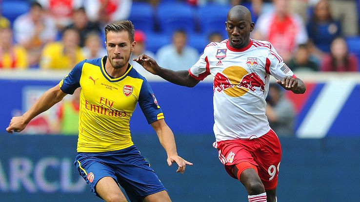 Arsenal and the Red Bulls tussled in a game that could hurt N.Y. in the long run.