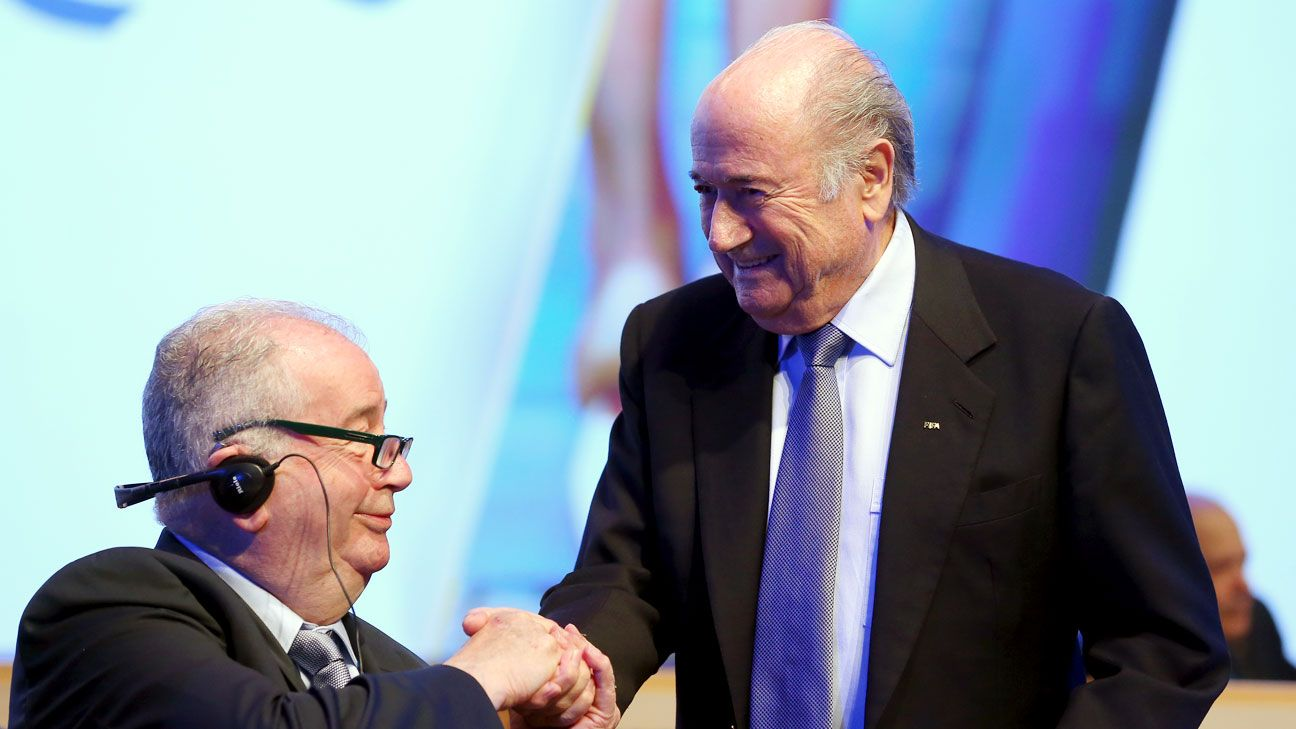 Blatter and Grondona worked together a long time, with the AFA boss holding sway at FIFA.