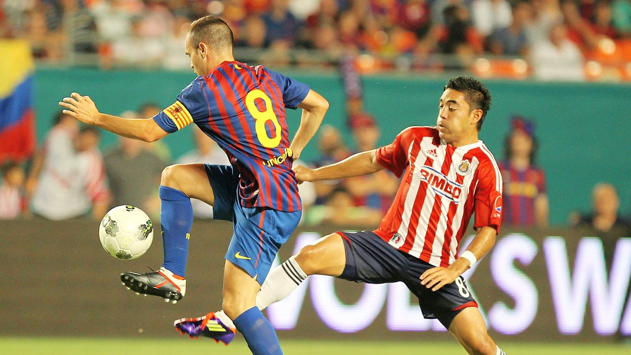 Chivas enjoyed success in their previous meeting against a Pep Guardiola-led side, claiming a 4-1 win over Barcelona in 2011.