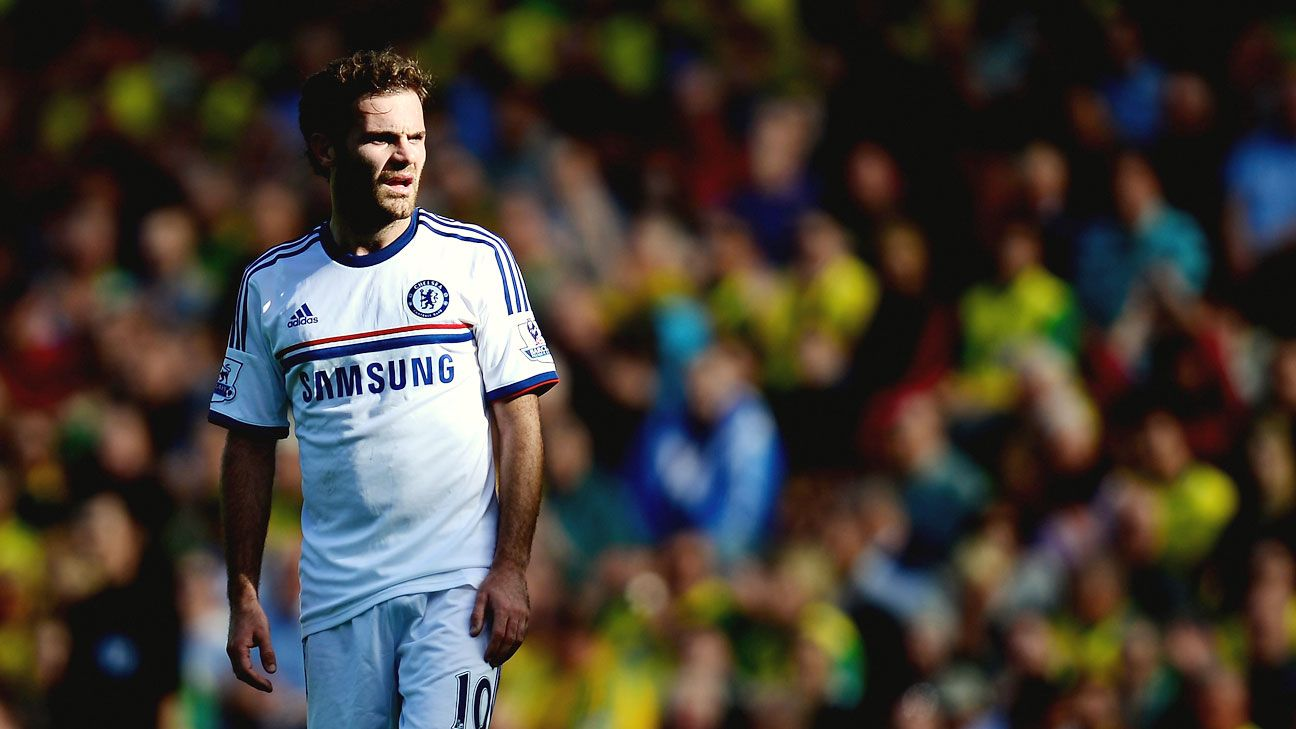 Juan Mata was a fan favourite in his two-and-a-half seasons at Chelsea.