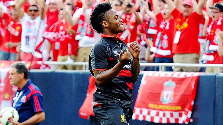 Even though he suits up for rivals Liverpool, Raheem Sterling is one player who Chelsea fans enjoy watching.