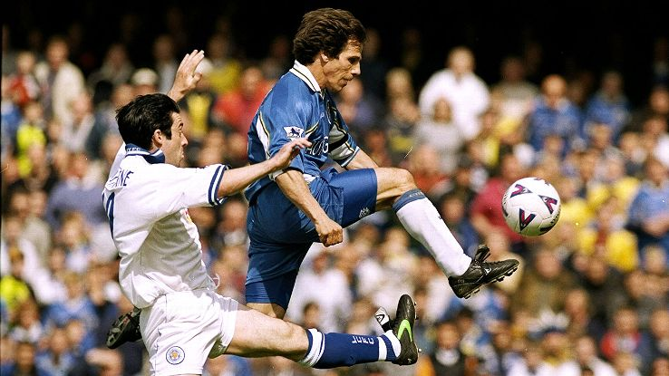 Despite all his successes in England, Gianfranco Zola never carried home the PFA's Player of the Year Award.