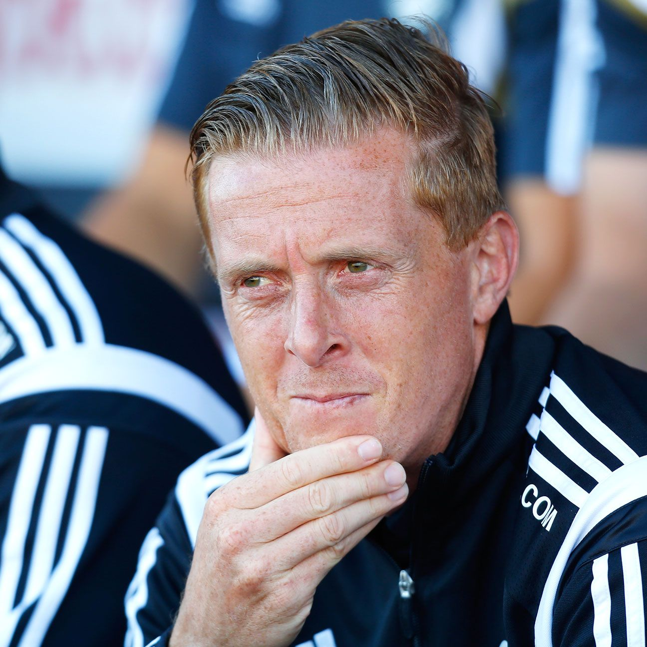 Manager Garry Monk has led Swansea to their highest ever points total in the Premier League.
