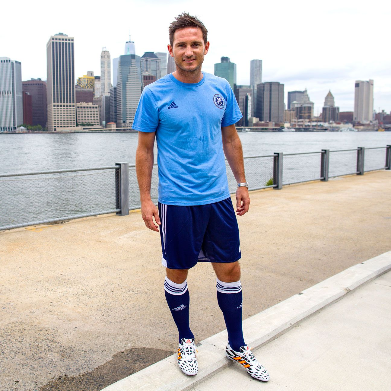 Prior to helping New York City FC kick off their inaugural campaign in 2015, Frank Lampard is expected to first suit up for Manchester City.
