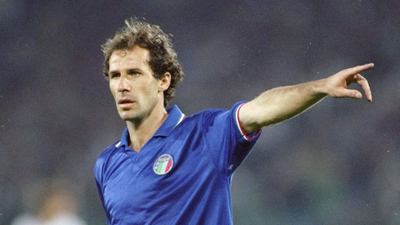 All-time greatest captain - Franco Baresi - the comeback