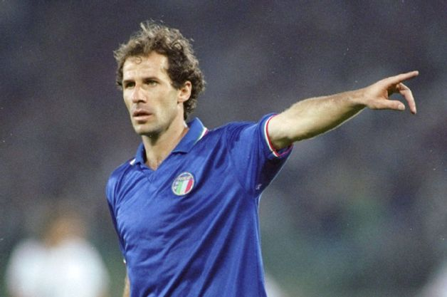 Italy's national teams of the 1980s and '90s were always in good hands with Franco Baresi on the pitch.