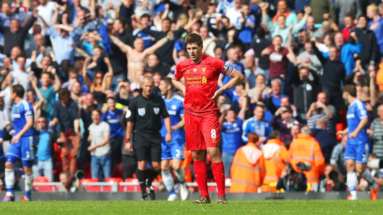 Even in trying times like April's slip versus Chelsea, Steven Gerrard has never shirked from wearing the captain's armband for Liverpool.