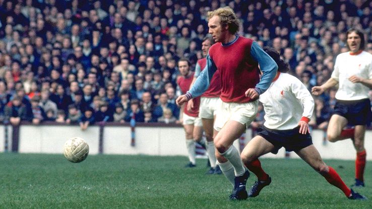 Moore is associated with most of West Ham's greatest moments.
