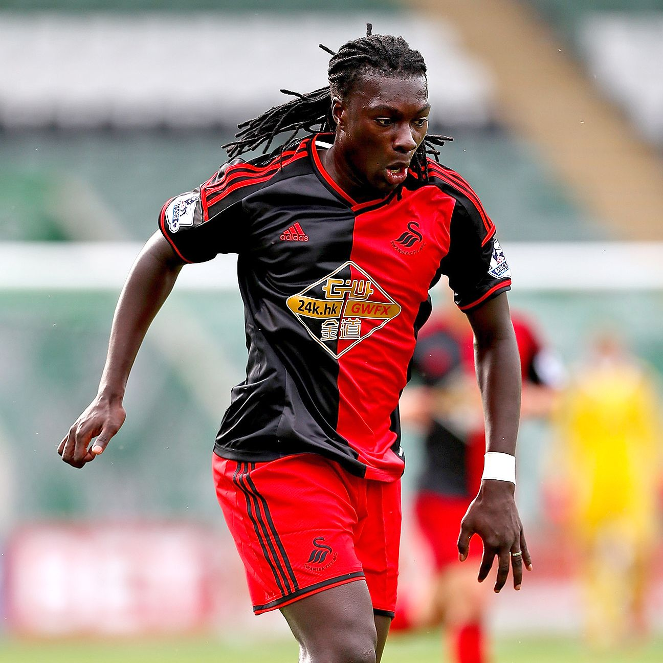 With Wilfried Bony close to a move to Manchester City, the Swansea striker spotlight shifts to Bafetimbi Gomis.