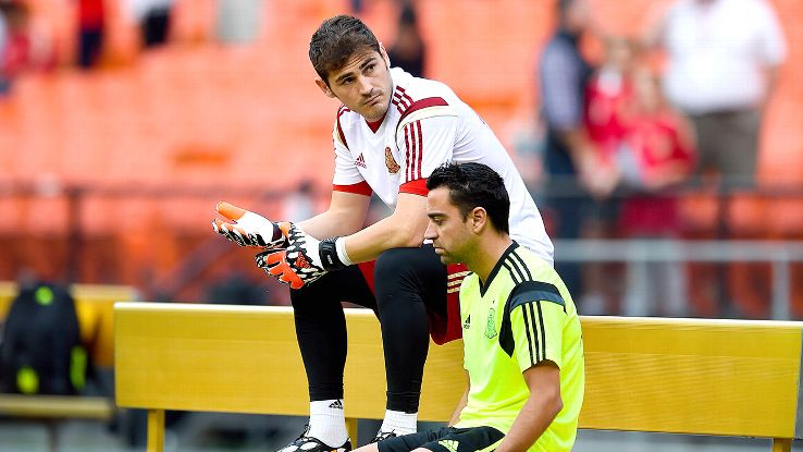 Casillas and Xavi can still be of use to Real and Barca, respectively, but it won't be a given.
